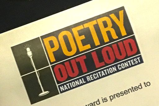 Sophomores Come Out Ahead in Poetry Out Loud Competition