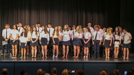 Middle School Students Inducted into NJHS