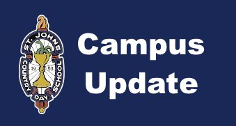 Campus Update for Tuesday, May 15, 2018