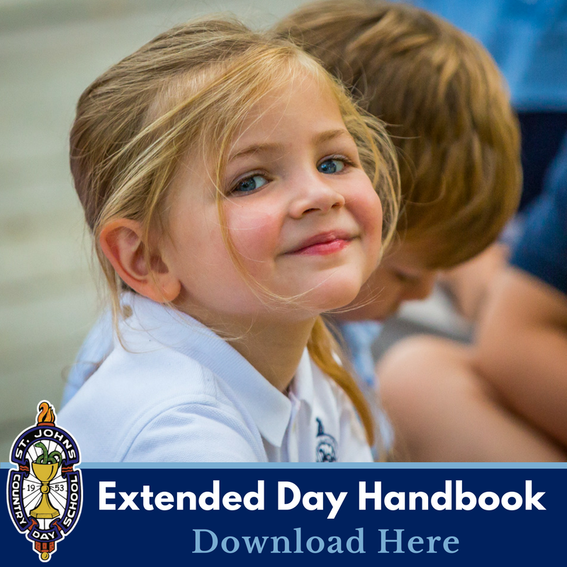 Download the Extended Day Handbook & Registration Form here.
